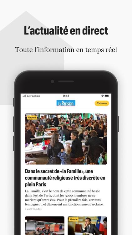 Le Parisien : actu en continu screenshot-0