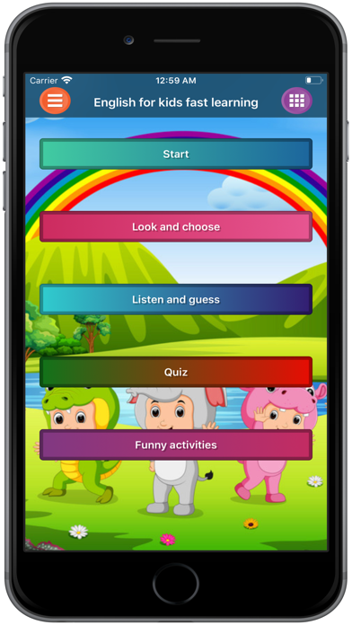 English for Kids Fast Learning screenshot 1