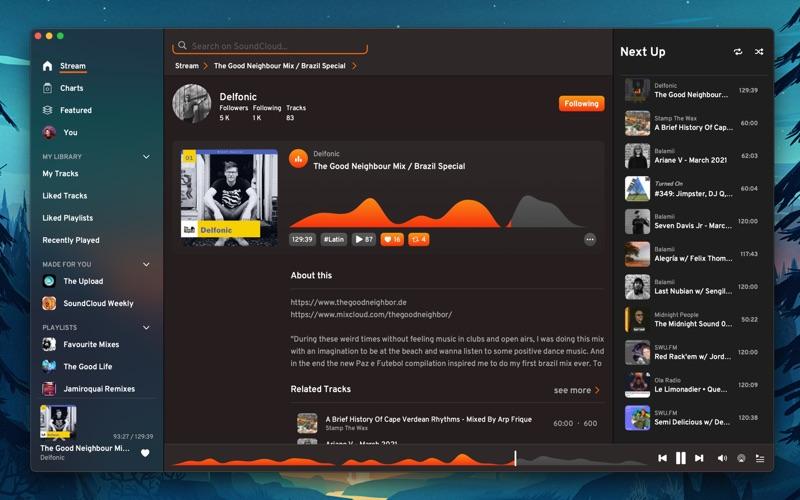 DaftCloud for SoundCloud