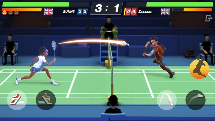 Badminton Blitz -Real PVP Game screenshot-3