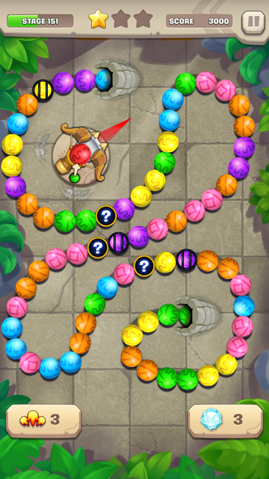 Marble Puzzle! Temple Mission screenshot 1