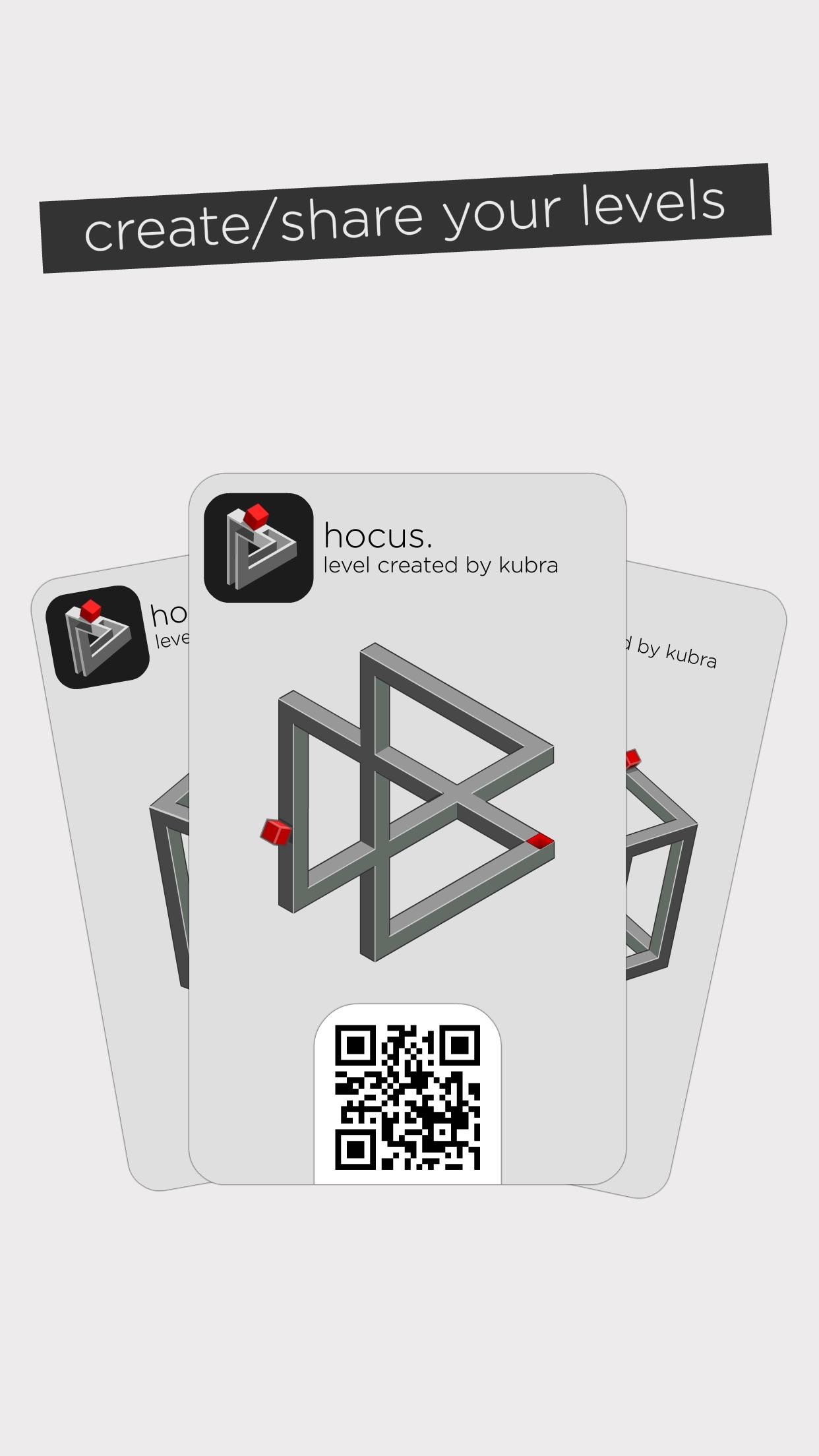 Screenshot do app hocus.