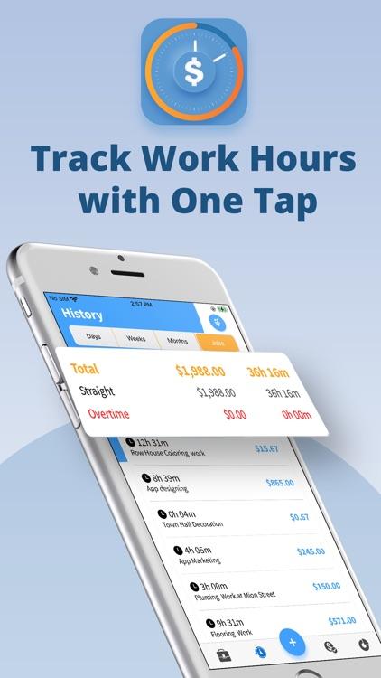 Hours Tracker screenshot-0