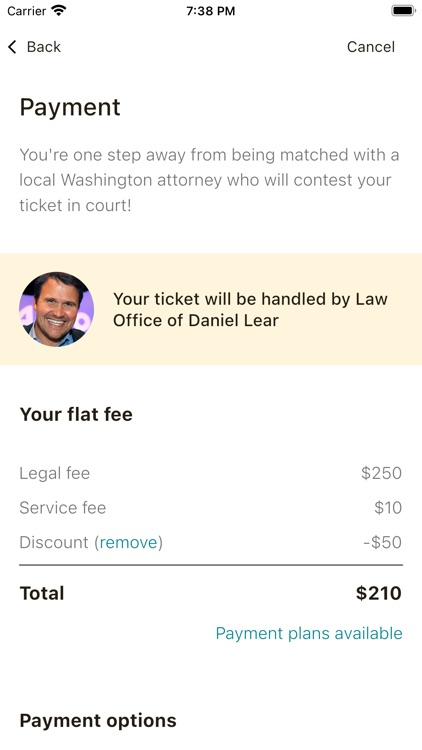 Off The Record: Ticket Lawyer screenshot-6