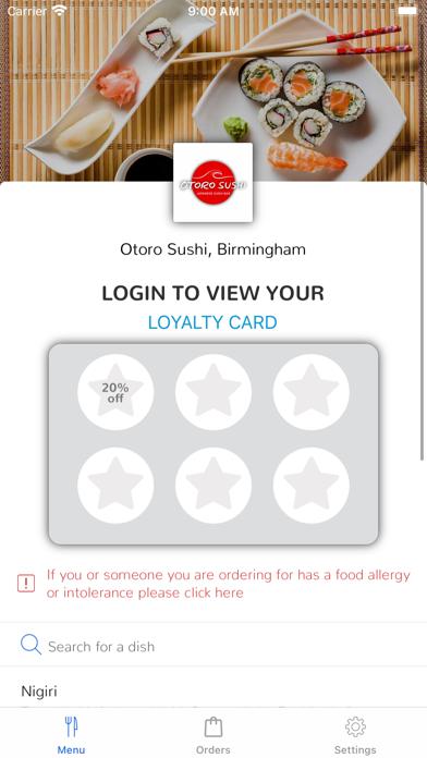 Otoro Sushi, Birmingham screenshot 1