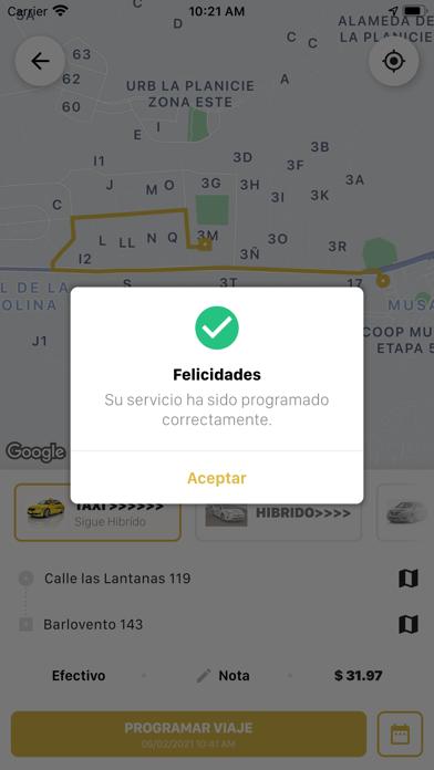 Taxi LibreCaptura de pantalla de7