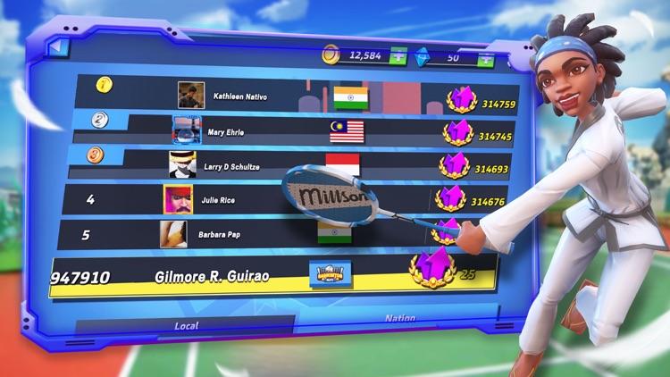 Badminton Blitz -Real PVP Game screenshot-6