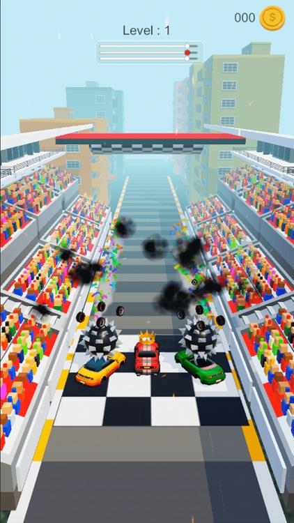 Smashing Cars Race screenshot-3