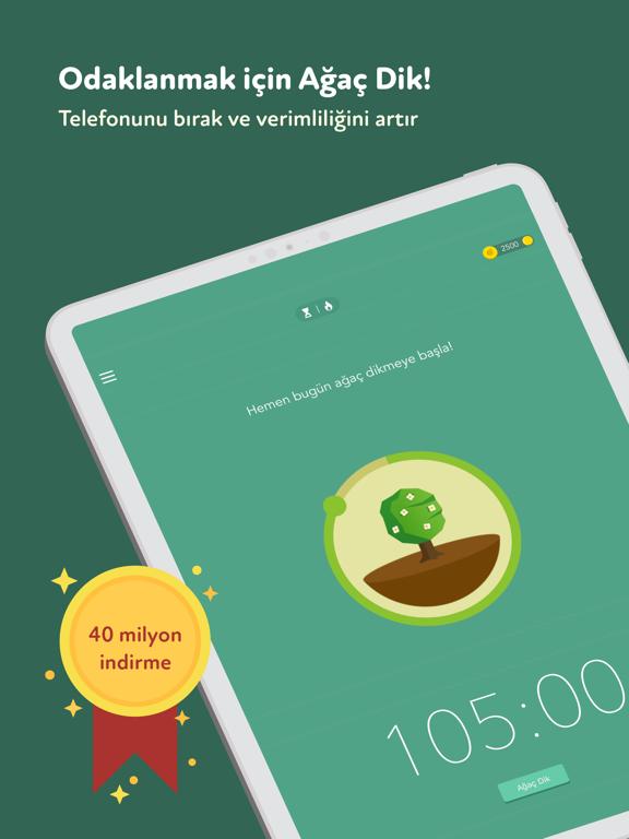 Forest - Odaklan ipad ekran görüntüleri