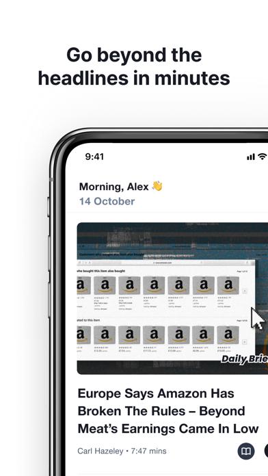 Finimize: Invest smarter Screenshot