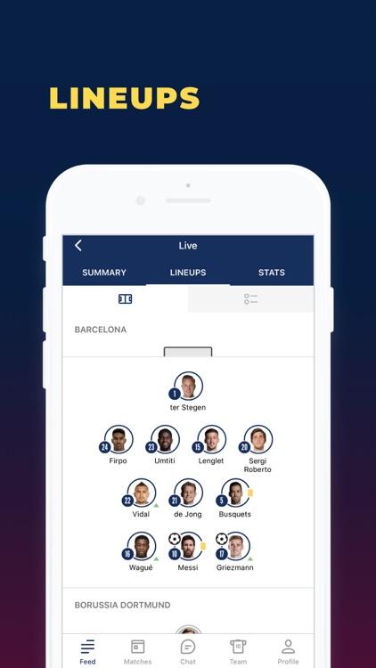 Barcelona Live — Goals & News. screenshot-5