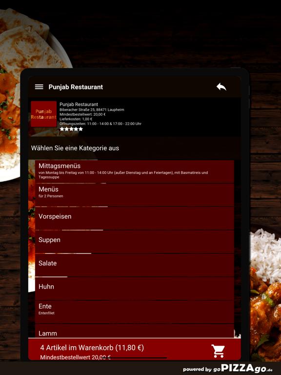 Punjab Restaurant Laupheim screenshot 8