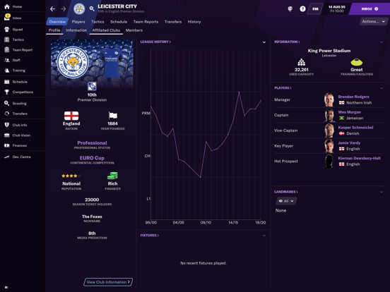 Football Manager 2021 Touch screenshot 1