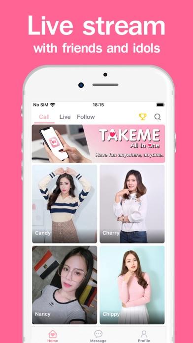 TakeMe - Live Streamのおすすめ画像3