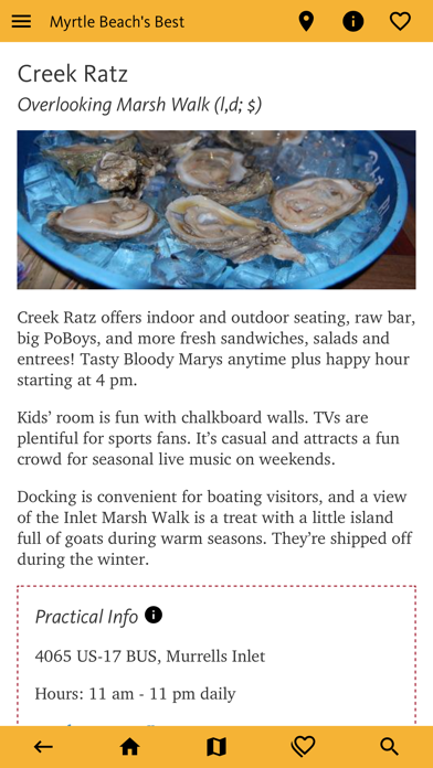 Myrtle Beach's Best Travel App screenshot 10