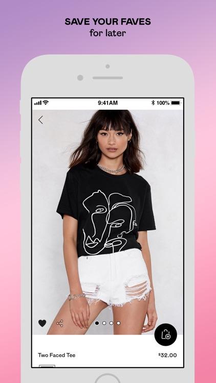 Nasty Gal – Clothing + Fashion screenshot-3