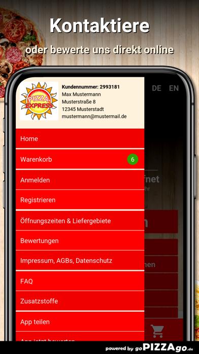 Pizza-Express Hildesheim screenshot 3
