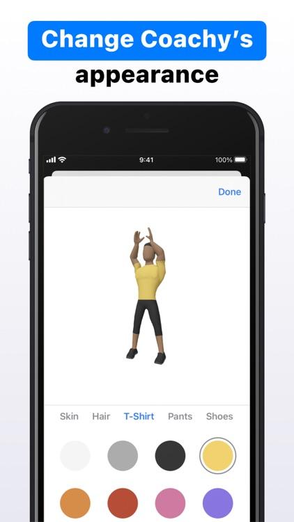Coachy: Personal Trainer in AR screenshot-8