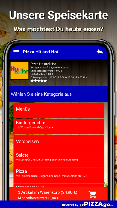 Pizza Hit and Hot Kaarst screenshot 4