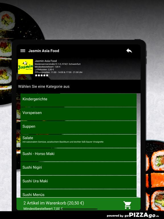 Jasmin Asia Food Schweinfurt screenshot 7