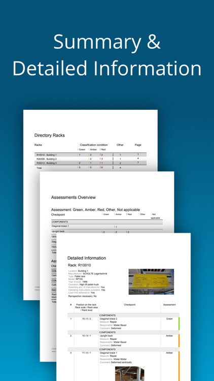 Rack Inspection DIN EN 15635 screenshot-7