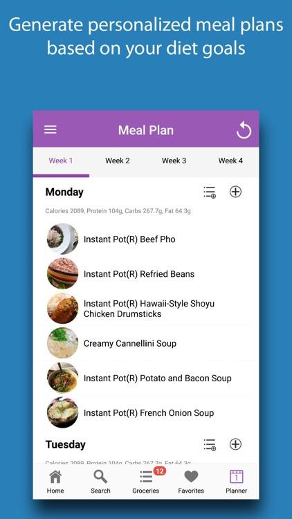 Instant Cooker Recipes screenshot-5
