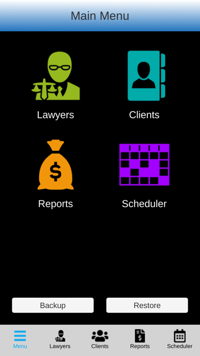 Lawyers Software Screenshots