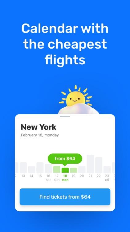 Cheap flights - Aviasales screenshot-4
