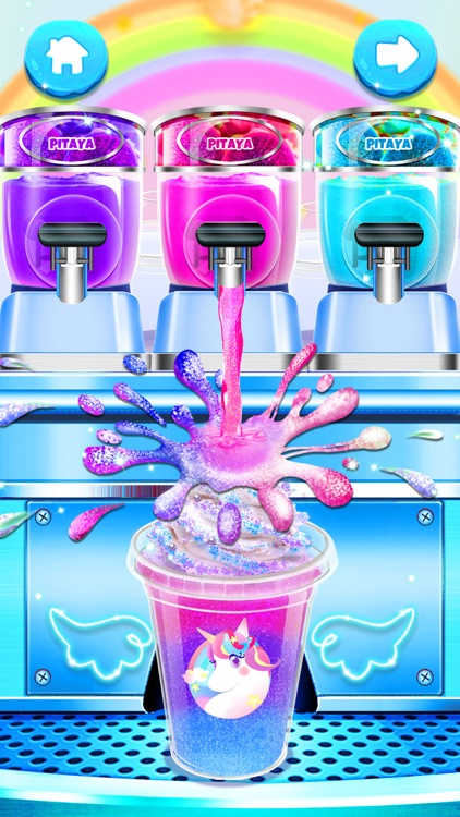 Ice Cream: Unicorn Girl Games