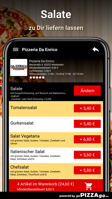 Pizzeria Da Enrico Wiesbaden screenshot 5