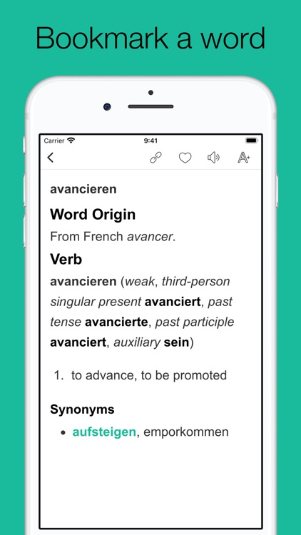 Dictionary of German language screenshot-3