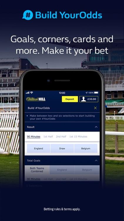 William Hill: Sports Betting screenshot-9