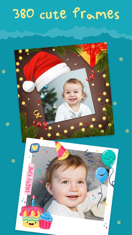 Cute - Baby Photo Editor screenshot-3