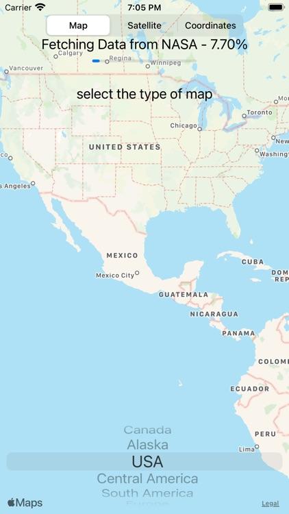 Global Fire Map