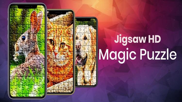 Jigsaw HD Magic Puzzle Block screenshot-3