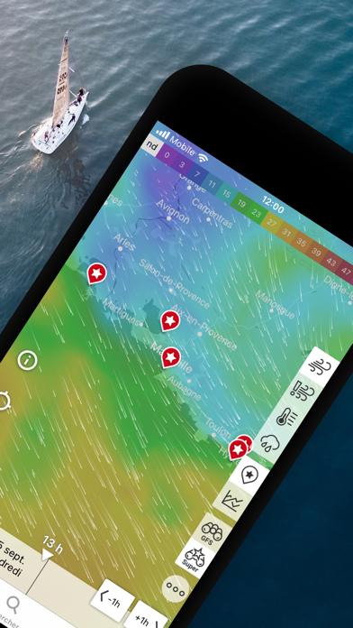 Windfinder: carte vent & météo