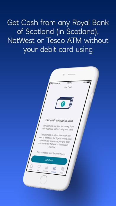 Royal Bank of Scotland screenshot four
