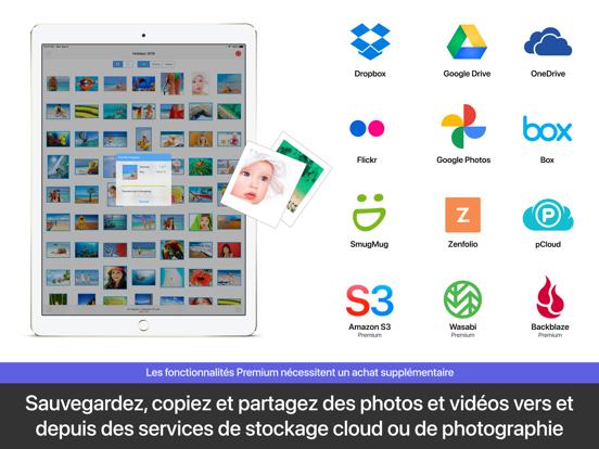 PhotoSync – transfert photos