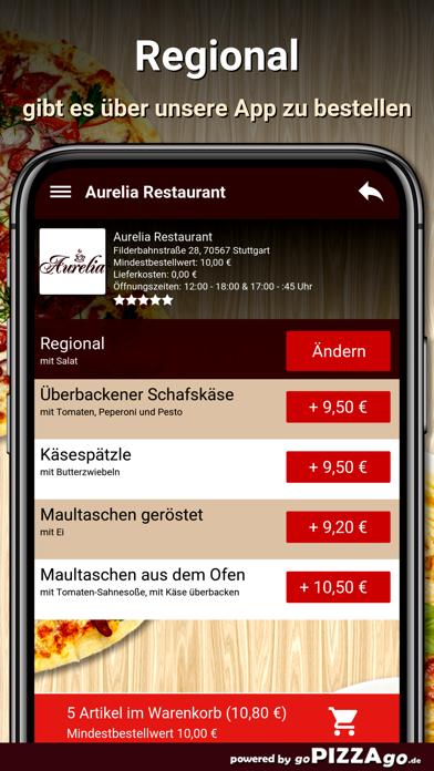 Aurelia Restaurant Stuttgart screenshot 6