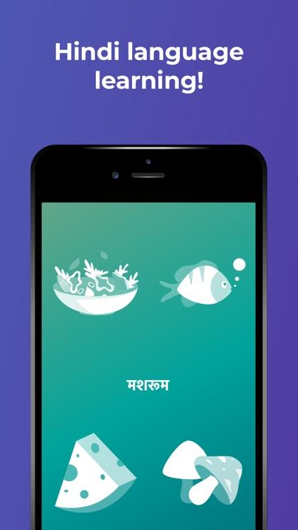 Learn Hindi language by Drops screenshot-0