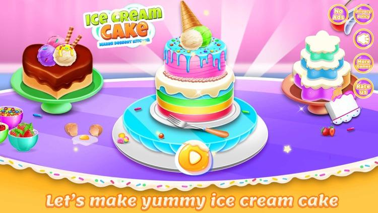 Ice Cream Cake Maker chef screenshot-4