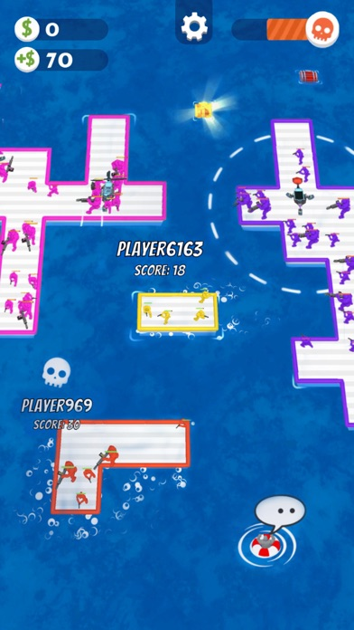 Download War of Rafts: Naval Battle for Android
