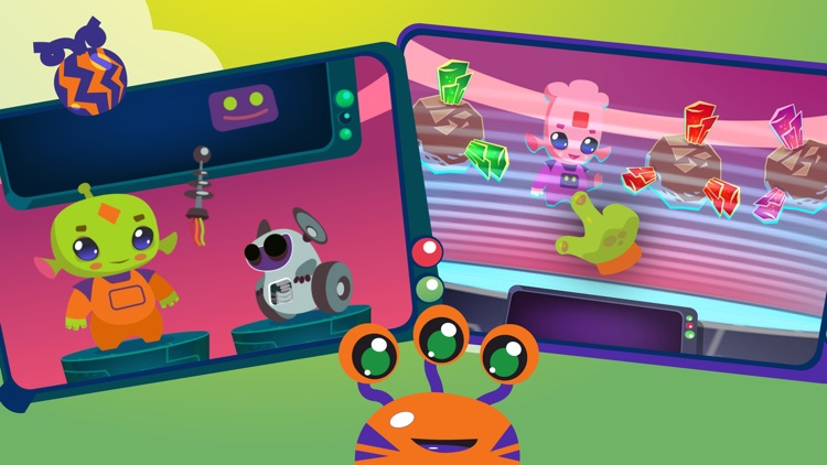 Aliens: games for toddlers. screenshot-5