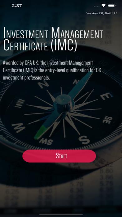 IMC Investment Management Test screenshot 1