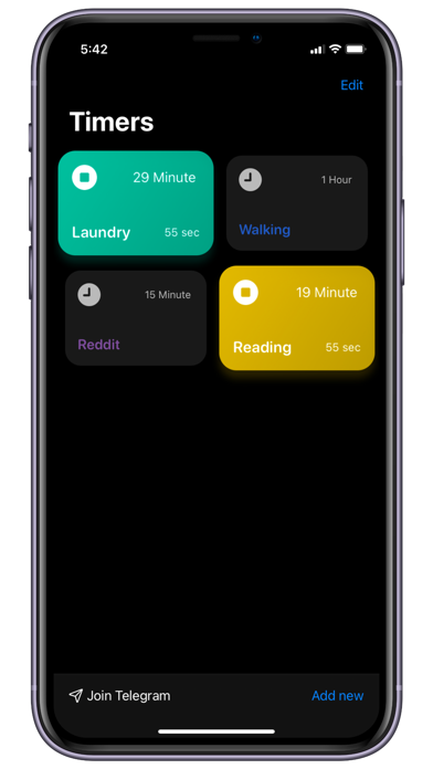 Timer Pro - Create Your Timers Screenshot