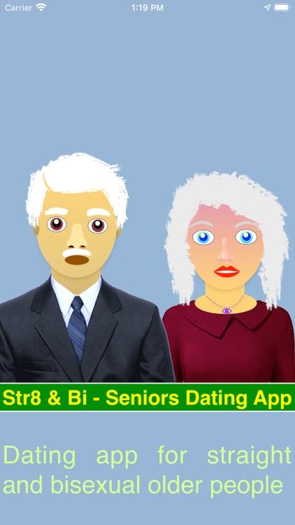 Str8 & Bi - Seniors Dating App