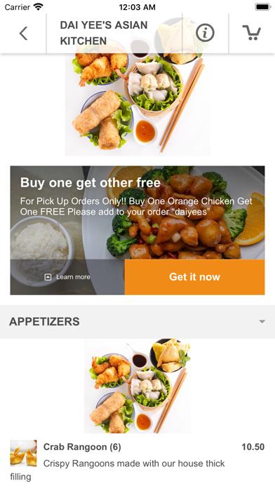 Dai Yee's Asian Kitchen screenshot 3