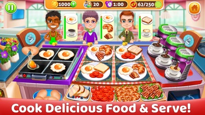 Delicious World Food Cooking screenshot 5