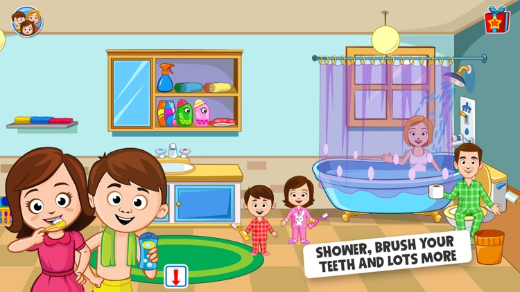 My Town - Play Doll Home Game