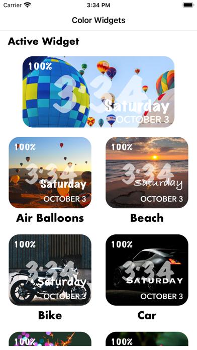 Widgets Mojo Pro screenshot 1